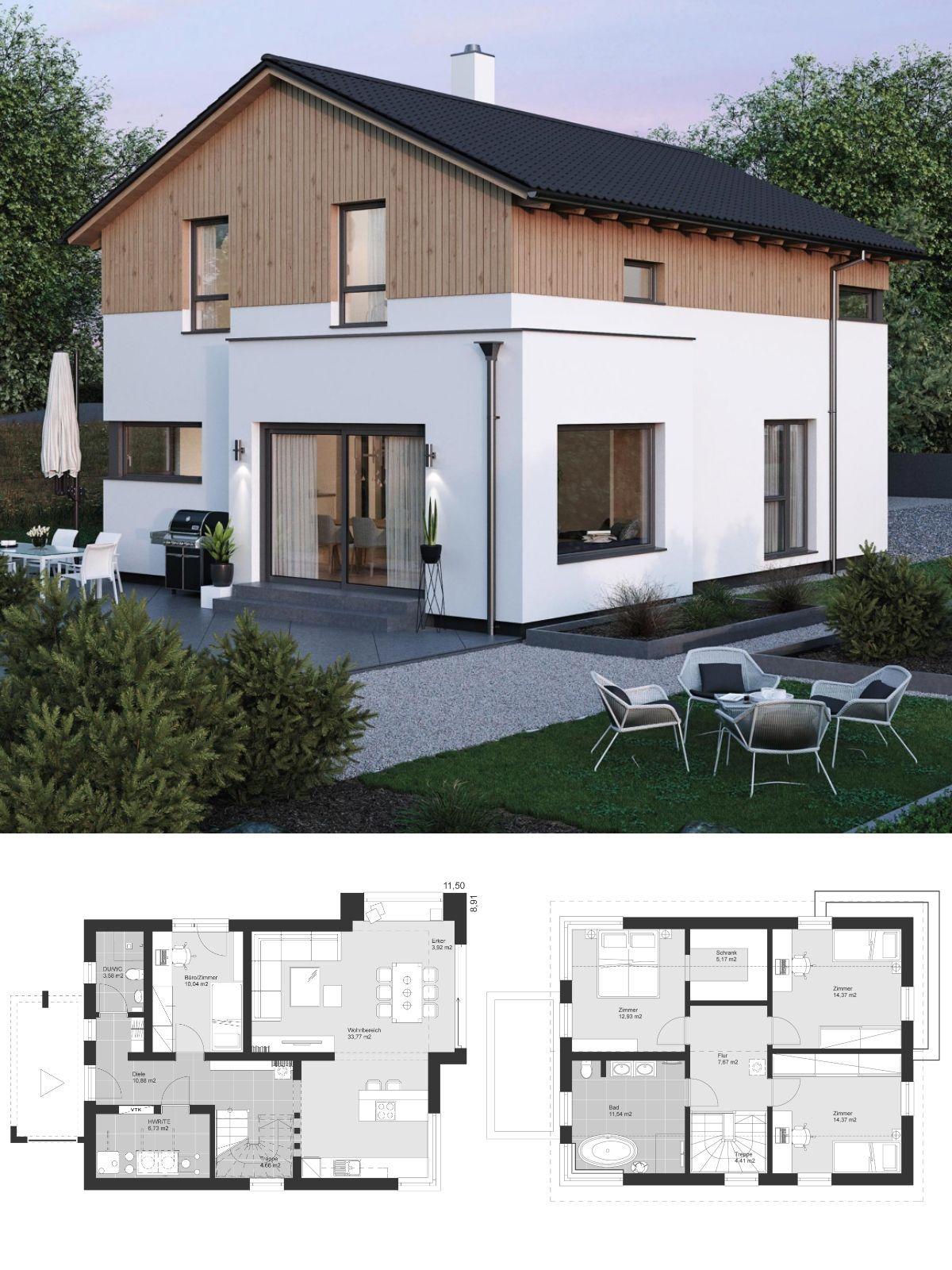 Einfamilienhaus Architektur modern Alpenländischer Stil