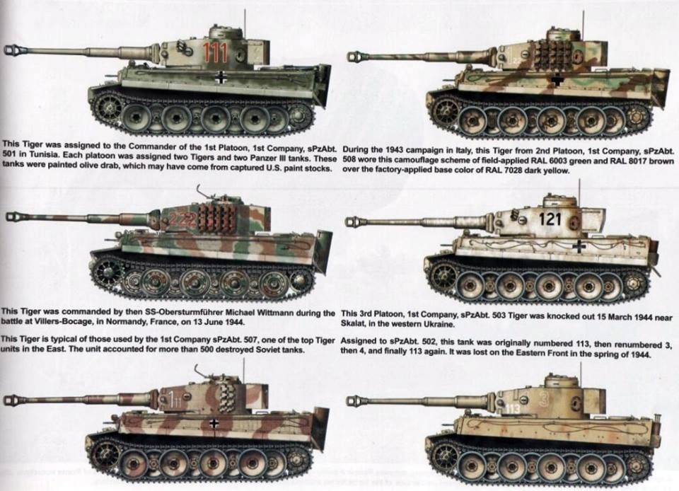 Tiger  Paint jobs   German Tiger Tank   Model tanks, Tiger