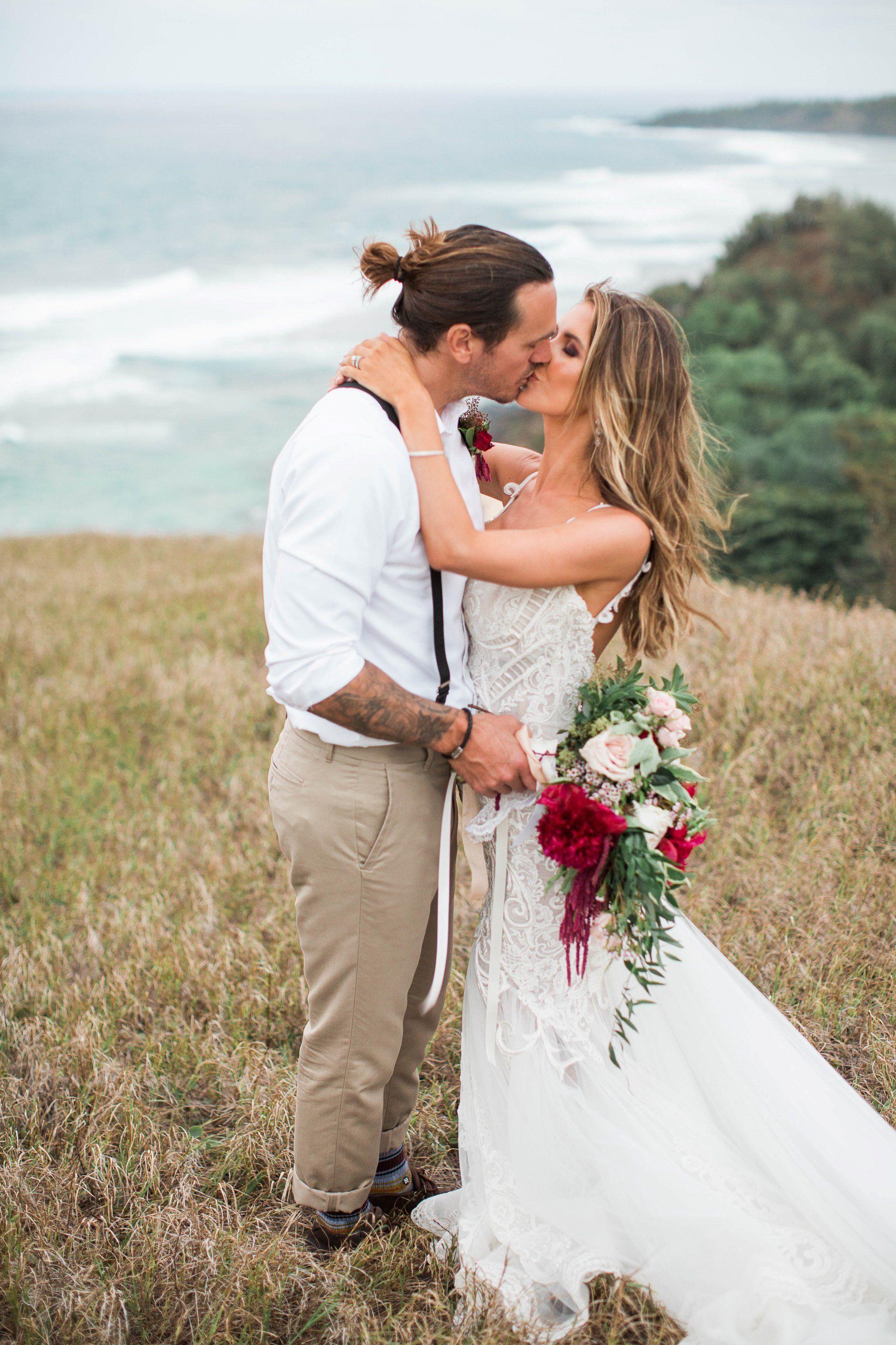 Photos From Audrina Patridge and Corey Bohan\'s Romantic Hawaiian Wedding
