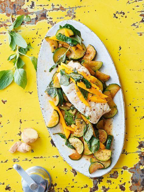 Photo of Zanderfilet auf Zucchini-Mango-Gemüse Rezept – FIT FOR FUN