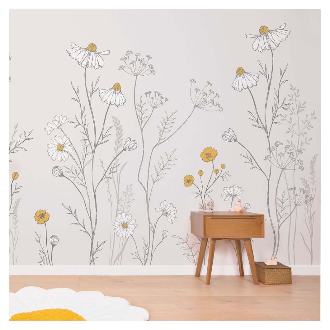 wall murals painted nature