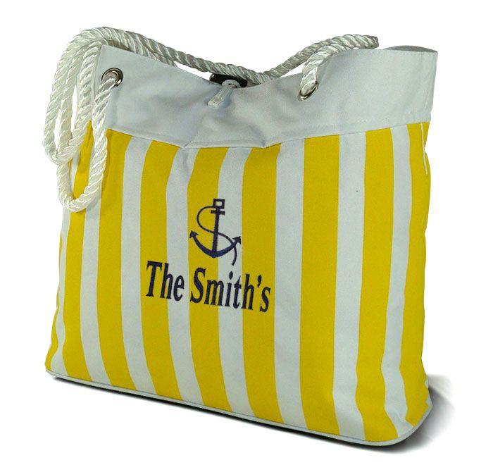 Win A Monogrammed Beach Bags