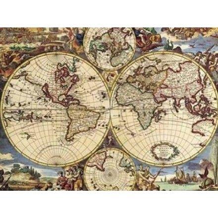 Puzzle mapa del mundo 1000 piezas editions ricordi http 1000 pcsset diy jigsaw puzzle famous painting of world art gallary oil painting diy jigsaw puzzle creativity imagine toys gumiabroncs Images