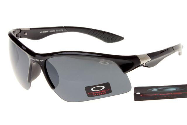 923f1c81497 Oakley Crankcase Sunglasses Black Frame Gray Lens 0148