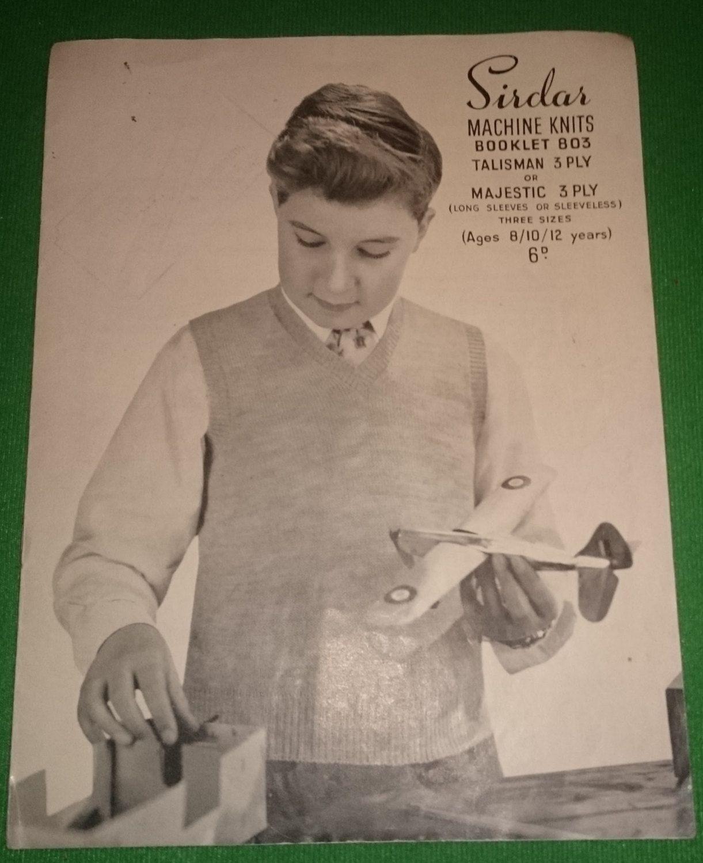3 vintage knitting patterns 1950s shawflex bellmans sirdar 3 vintage knitting patterns 1950s shawflex bellmans sirdar mens boys childrens look wonderful if framed bankloansurffo Image collections