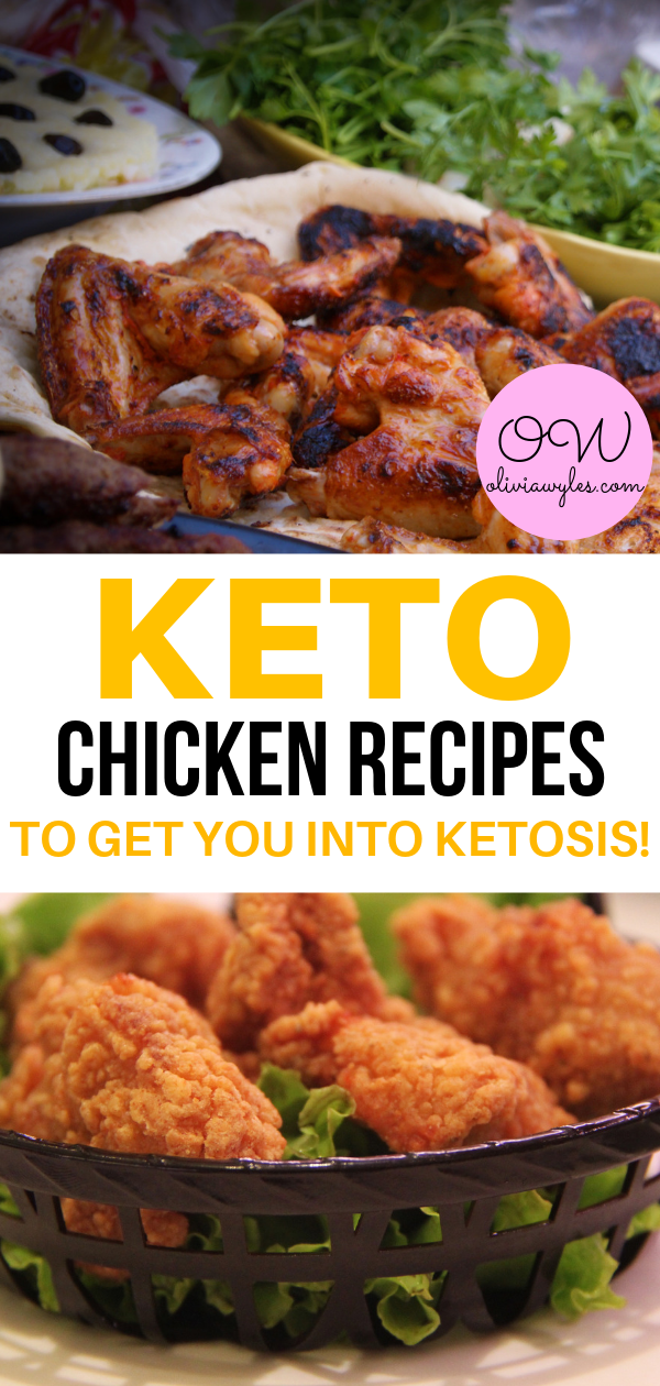 8 Quick & Easy Keto Chicken Recipes You Need To Try | Olivia Wyles images