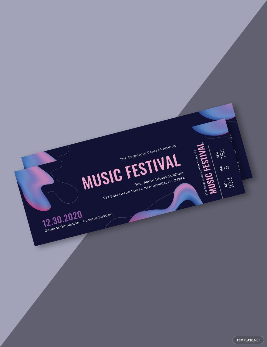 Event Ticket Printables Editable Event Tickets Event Ticket Etsy In 2021 Ticket Template Free Ticket Template Ticket Template Free Printables