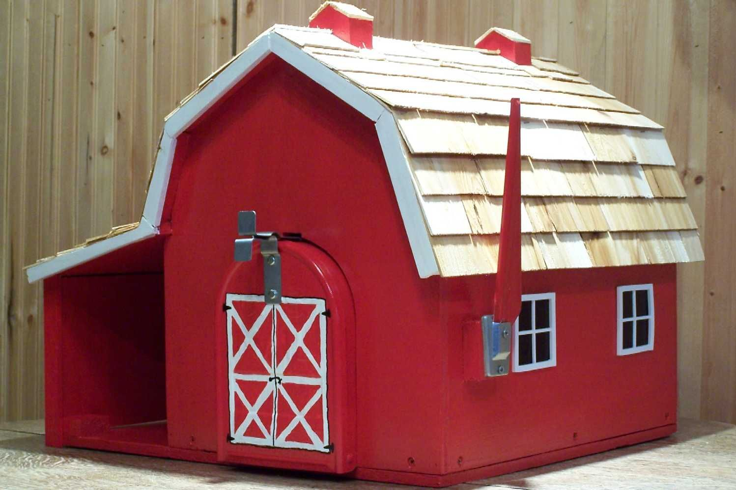 Building Mailboxes House Mailboxes Barn Mailboxes School House Mailbox House Mailbox Barn Mailbox School House Mailboxe Wooden Barn Residential Mailboxes House