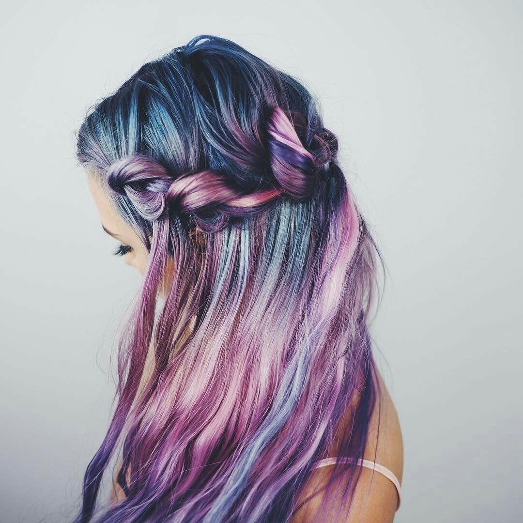 Unique hairstyles photo balayagecolormelt pinterest