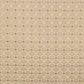 f78b6f5c9c4 Lagoon Blue Diamond Woven Home Decor Fabric