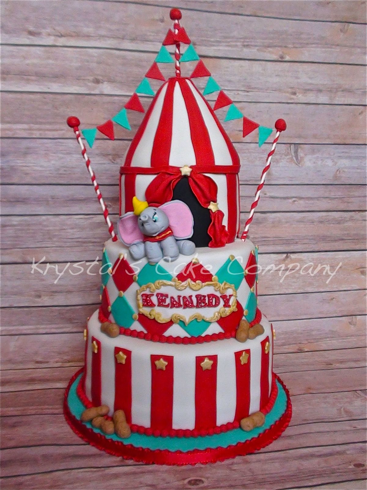 Groovy Circus Party Carnival Cakes Dumbo Birthday Party Birthday Cake Birthday Cards Printable Trancafe Filternl