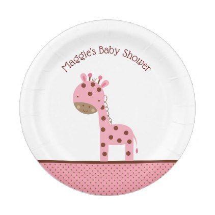Pink Giraffe Paper Plates  sc 1 st  Pinterest & Pink Giraffe Paper Plates   Pink giraffe