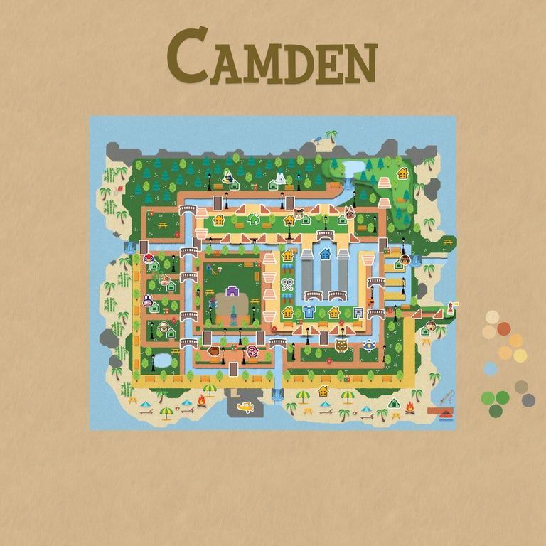 I Don T Have A Switch Yet But Here S My Town Plans Hopefully It Inspires An Idea Or Two Animalcrossing In 2020