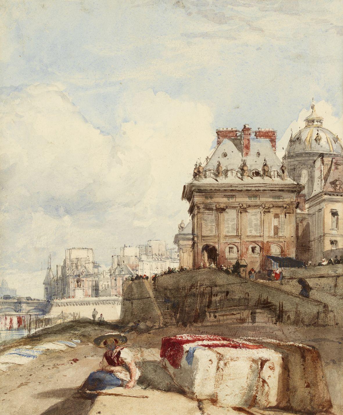The Institut Paris By R P Bonington Trustees Of The Cecil
