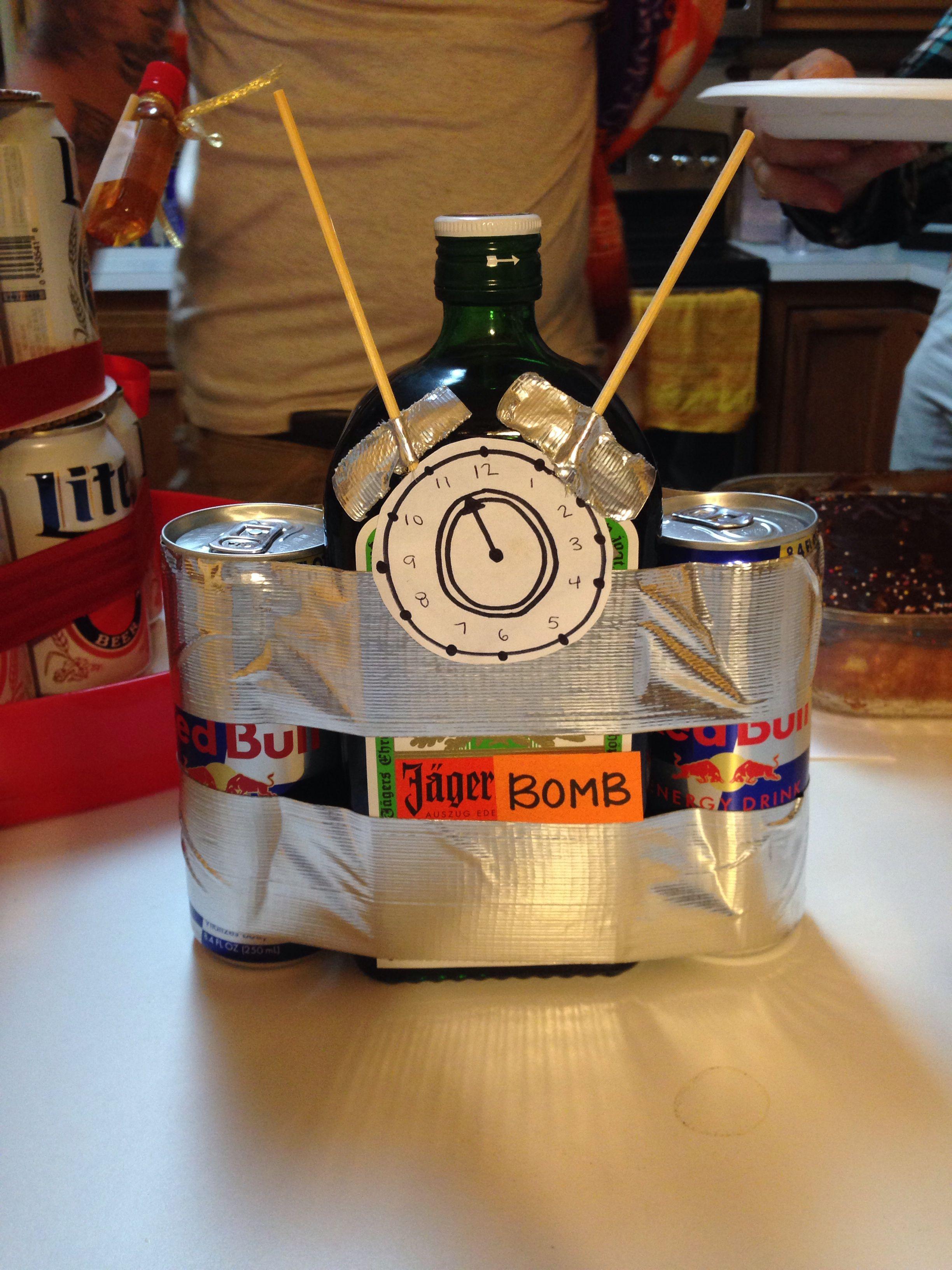 Jger Bomb I Made For My Boyfriends 21st Birthday Holidays