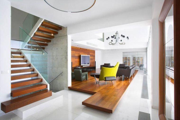 Rampe escalier intérieur - comment faire le bon choix pour son - escalier interieur de villa