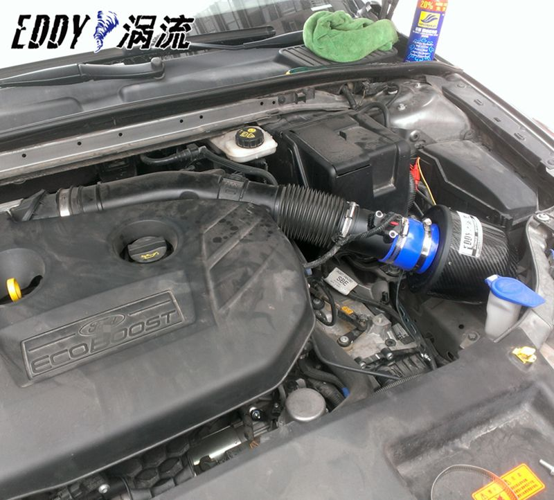 Free Shipping For Ford Mondeo 2 0t 2011 2012 High Performance Cf A Carbon Fiber Cold Air Intake System Air Filter Cold Air Intake Ford Mondeo Cold Air