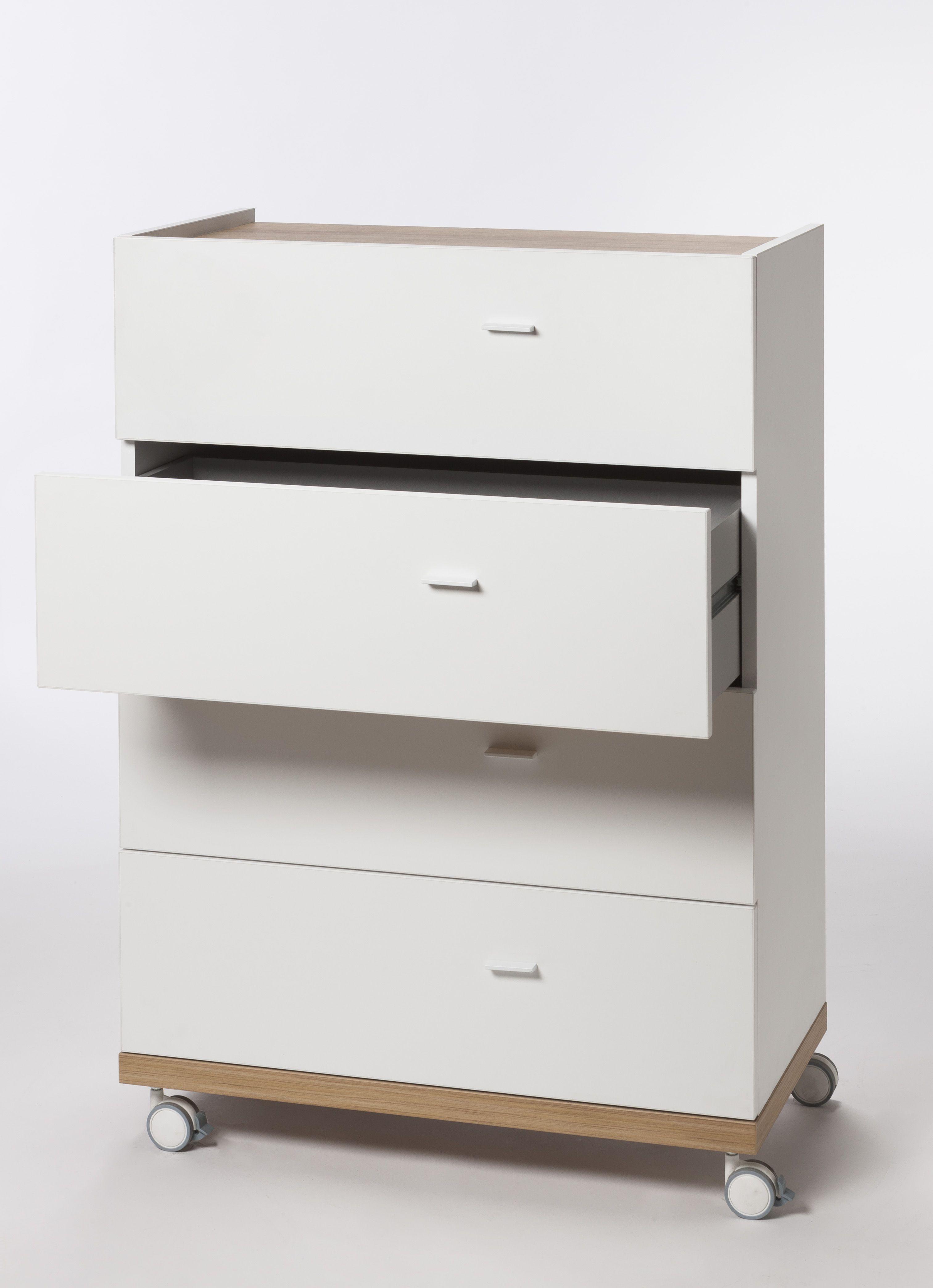 Scrivania Angolo 376 Con Cassettiera High Quality Materials Desks & Tables Furniture