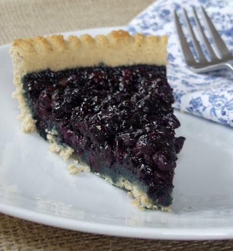 Gluten free berry pie.