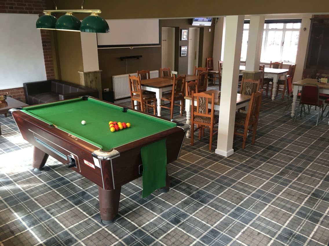 Balmoral Plaid Carpet Installed By Bradfords For Evesham Northwick Hotel.