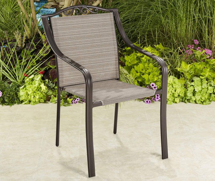 D Sling Stacking Patio Chair At Lots