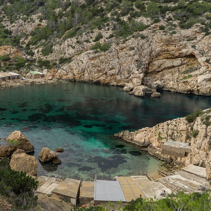 Explore Es Portitxol, one of Ibiza's island best kept secret beaches