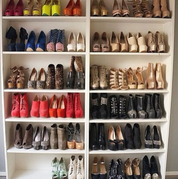 Shoe Heaven D Shoe Rack Creative Closet Storage Ideas Creative Closets