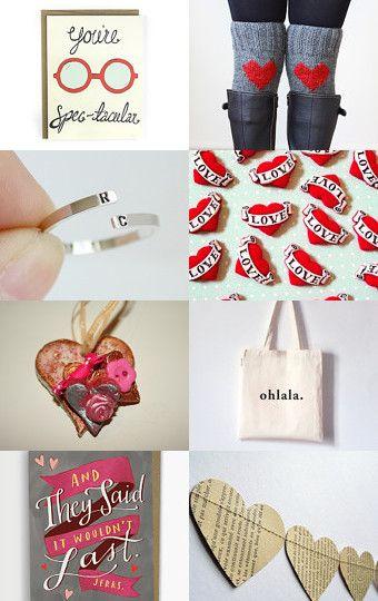 Valentine trends, Heart Leg-Warmers!