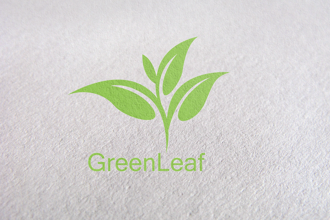 Tree Tea Leaf Green Logo Template Herbal Logo Herbal Logo Design Green Logo