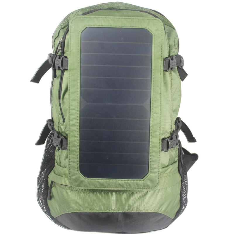 99.00$  Watch here - http://aliakt.worldwells.pw/go.php?t=32666578781 - Shoulders Solar Charging Travel Backpack 6.5 Watt Solar Mobile Charging Backpack 2016 New Products