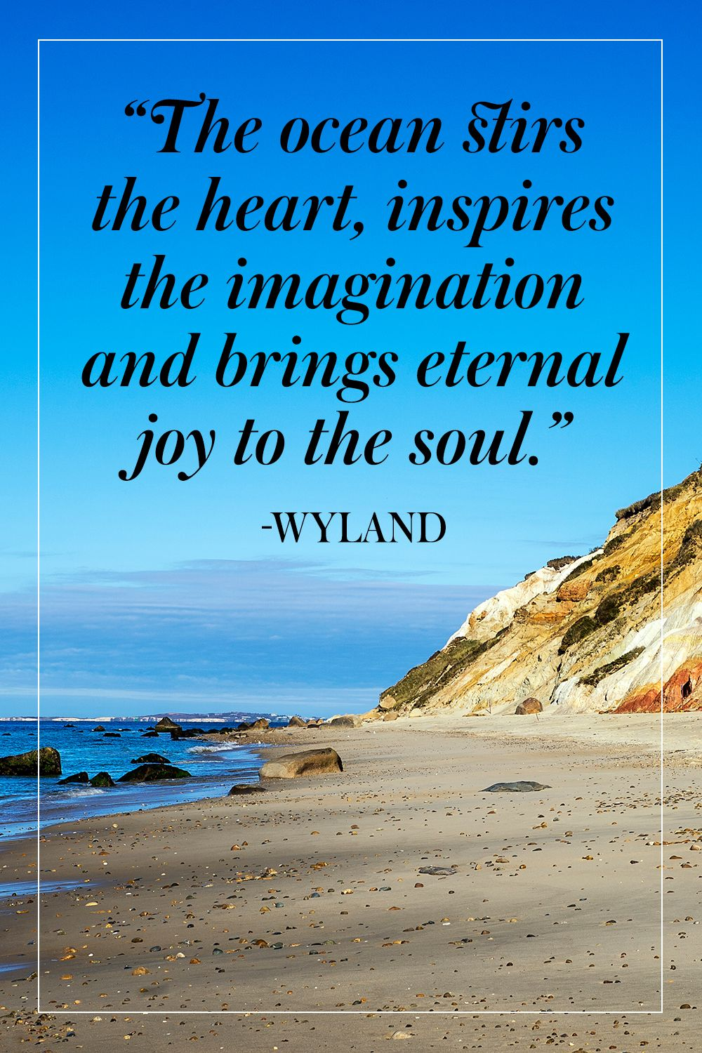 10 Inspiring Quotes About The Ocean Ocean quotes, Beach