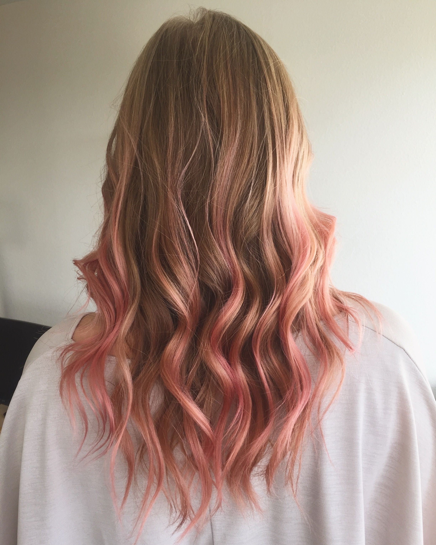 Pink Hair Loreal Lorealcolorista Pink Hair Hairstyle