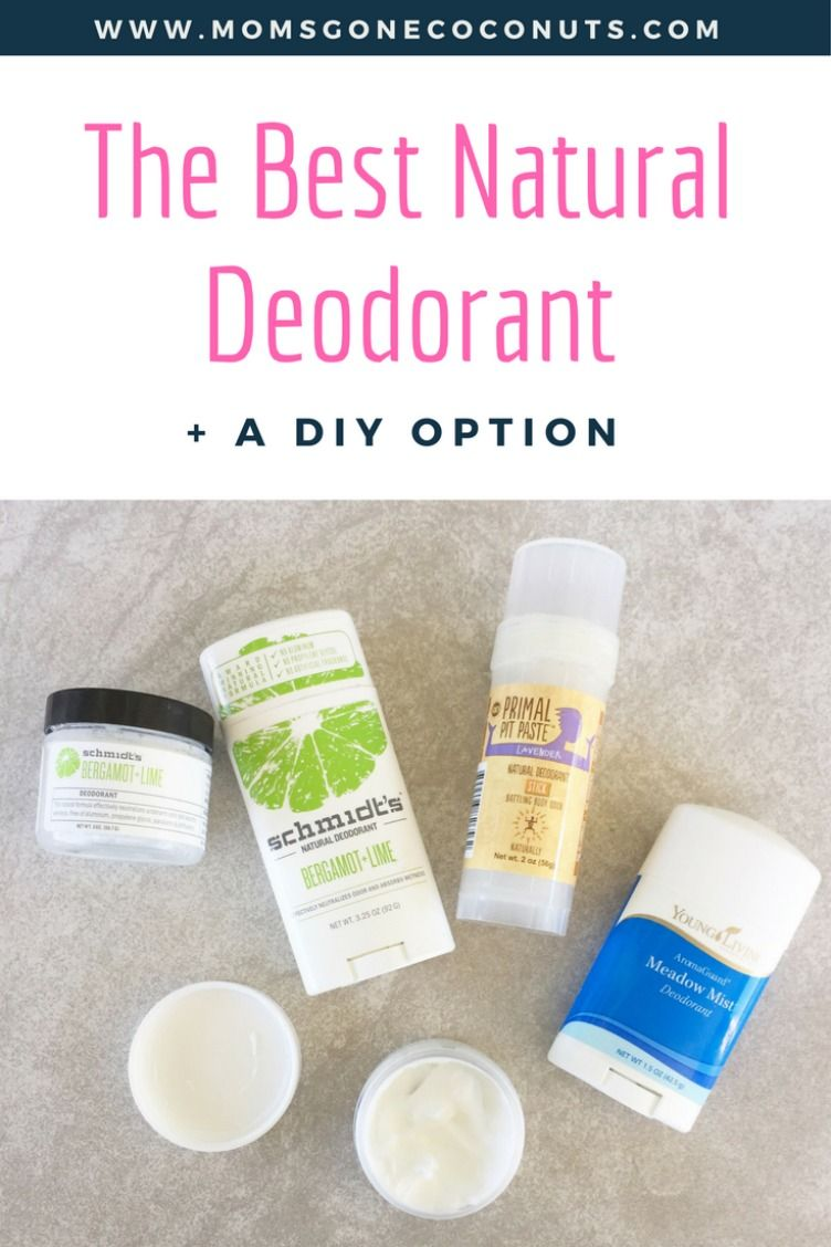 The Best Natural Deodorant  a DIY Version  Natural deodorant