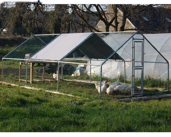 Factory Direct Sale Large Metal Chicken Coop Chicken House Designs Hen House Dog Cages Dog Kennel Cheap Dog Kennels