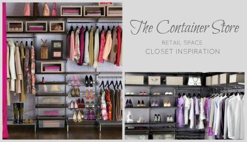 FOCUS ON Closet Planning  Organization Part I Container store