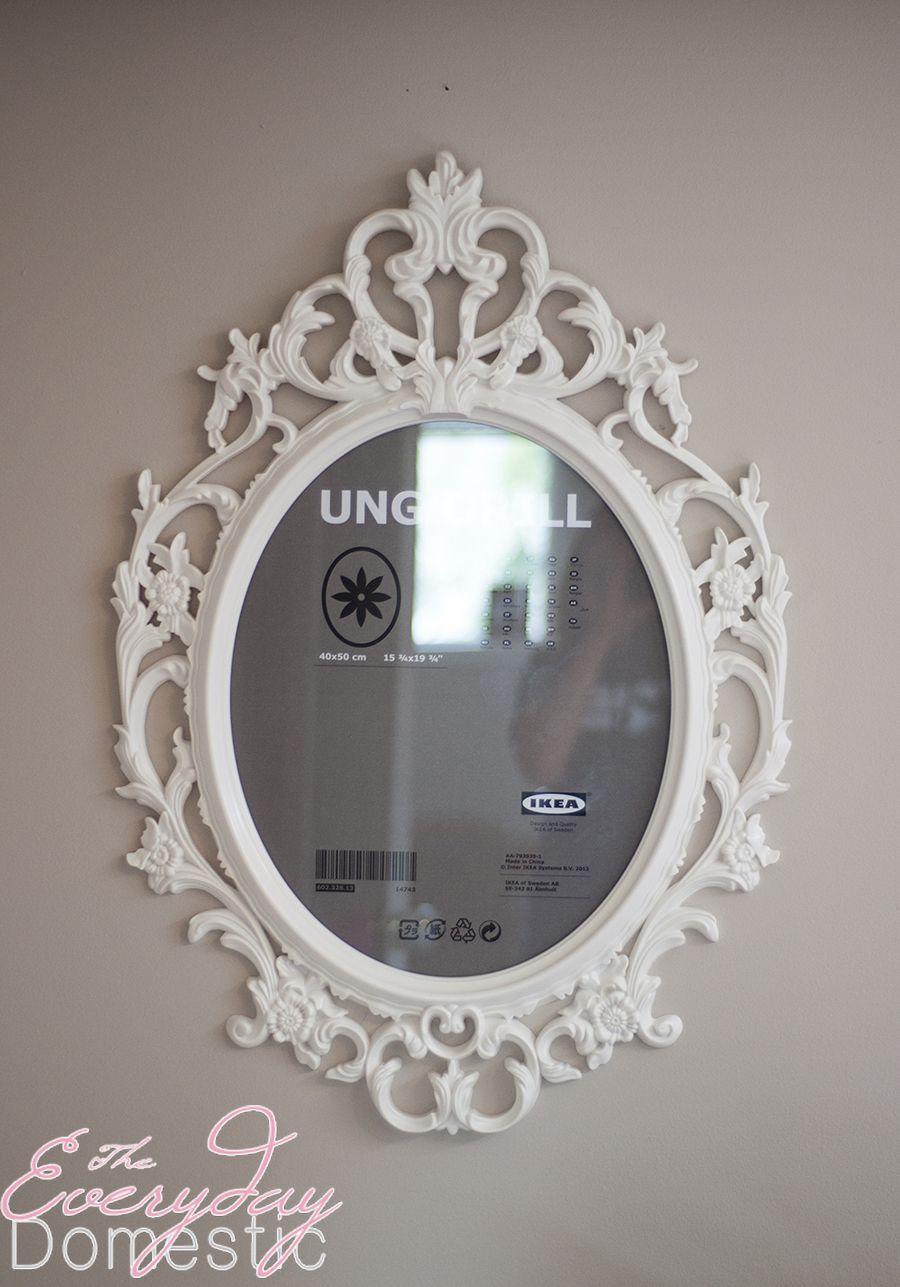 Ung Drill Mirror Ikea Hack Mirror Frames Framed Mirror Wall