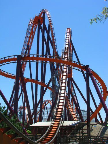 California S Great America Great America Amusement Park Rides Roller Coaster Ride