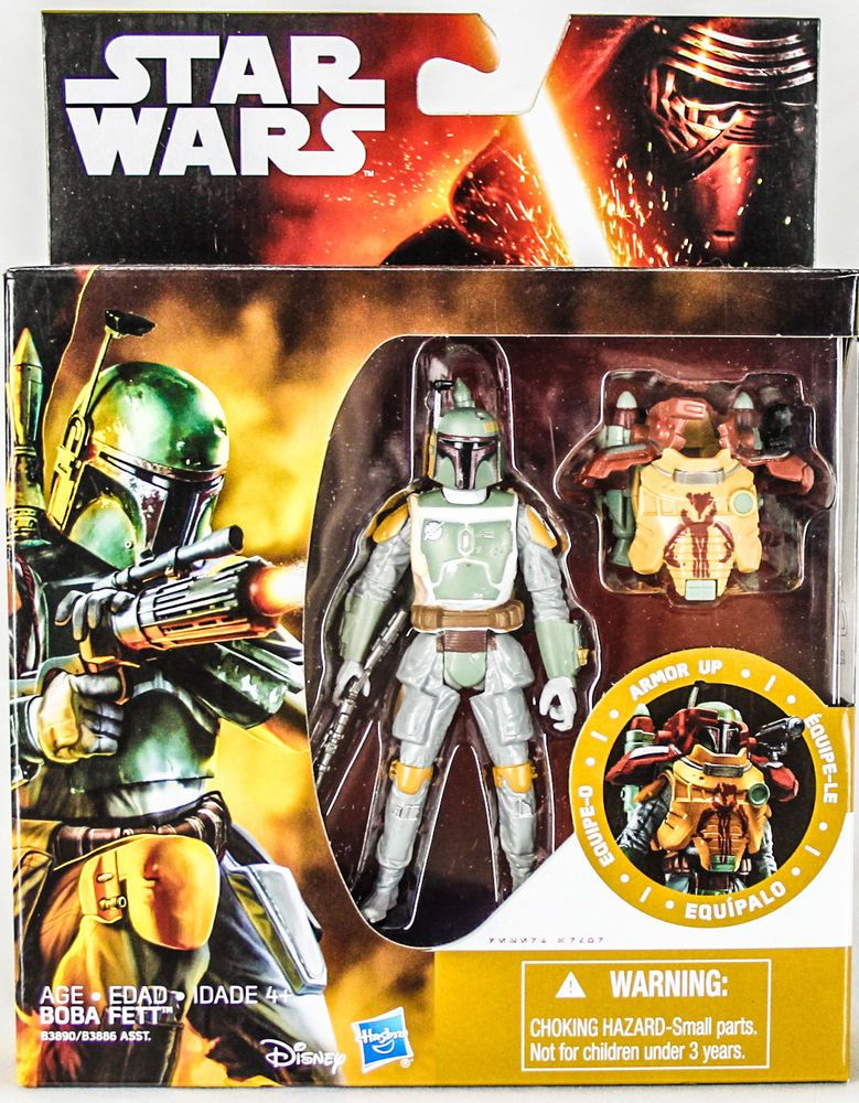 Star Wars The Empire Strikes Back Boba Fett Armor Up ...