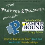 On ep. #164, Gregg Cohen talks about how to maximize your need and #MeritAidScholarships. >> http://bit.ly/2tpiEZr