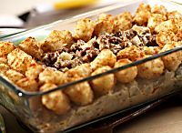 Old-Fashioned Tater Tot Casserole Is a Family Fave