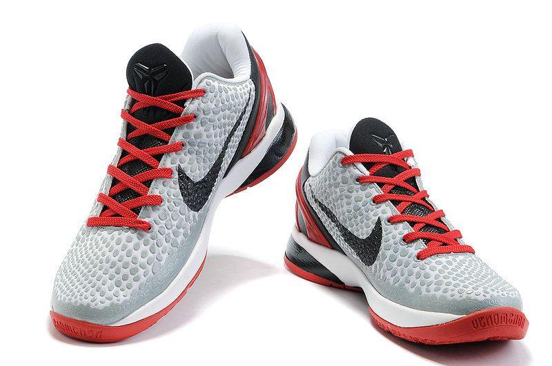 new arrival 89bcd 6b0b6 Nike Zoom Kobe VI Year Of The Rabbit Gray Black Red 429659 103