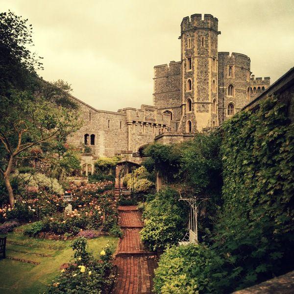 Windsor Castle by Kelsey Inkol, via Behance