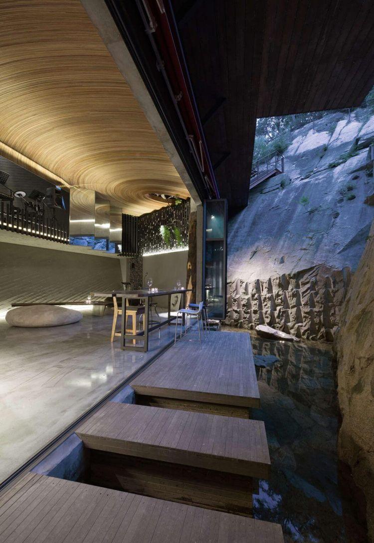 Elegant Interior Trend: Gestein Und Naturobjekte In Der Raumgestaltung  #indirektebeleuchtung #moderneraumgestaltung #braun #