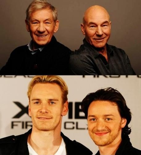 Young And The Old Magneto And Xavier Charles Xavier Superhero Comic X Men