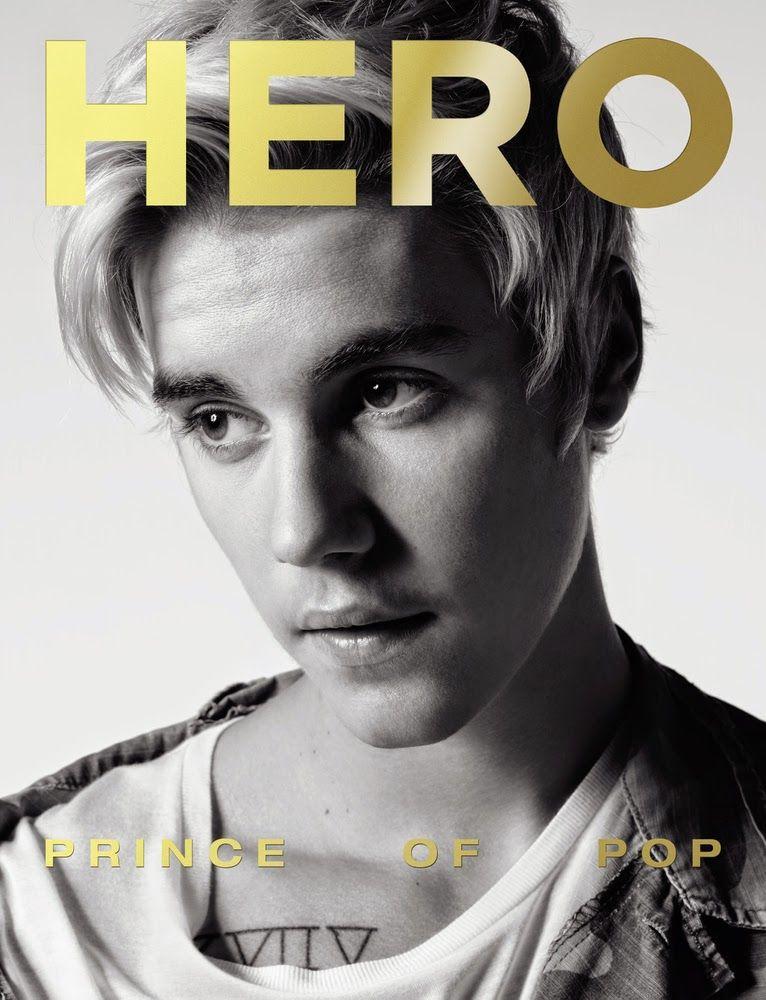 Justin Bieber en portada de HERO Magazine #13 | Male Fashion Trends