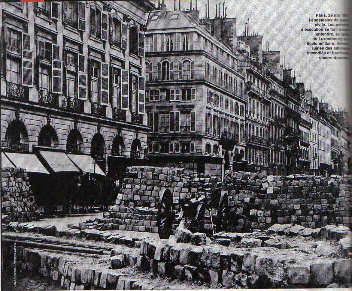 Paris Commune Barricade