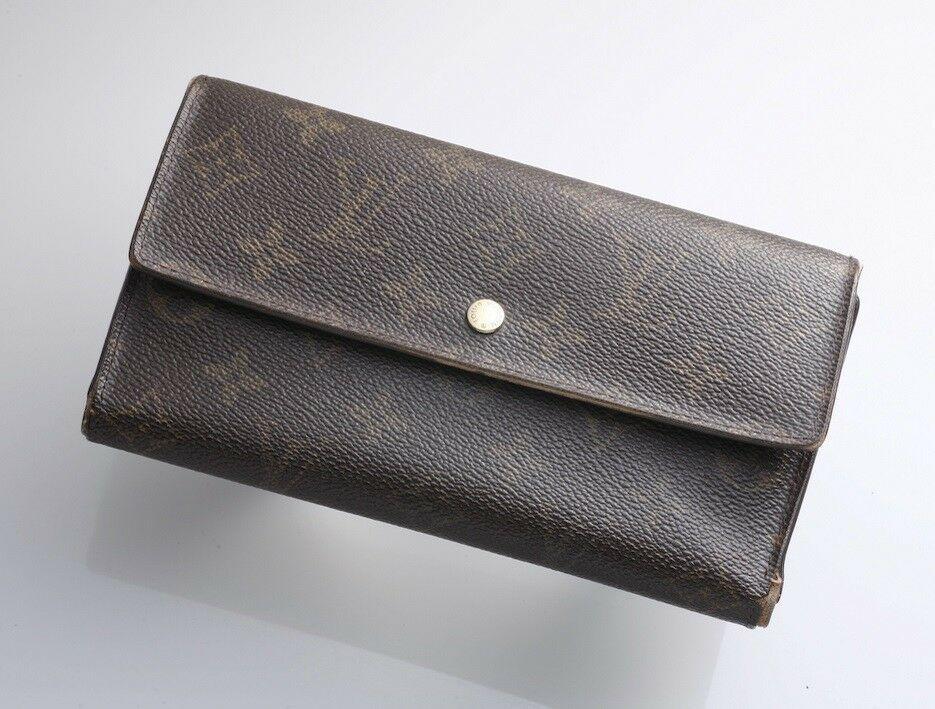 E5029 Authentic Louis Vuitton Monogram International