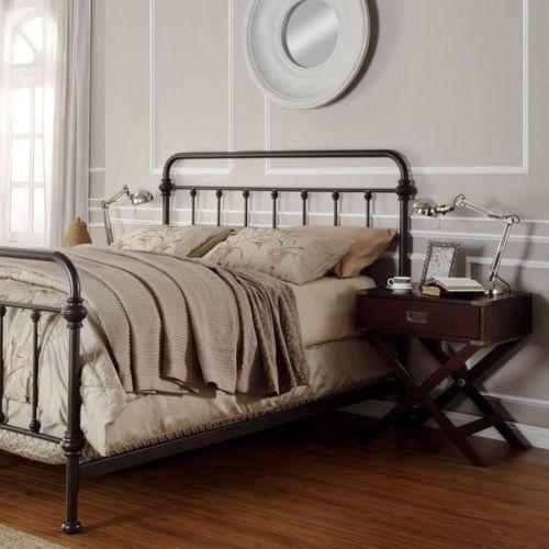 Lovely Queen Bed Frames | Antique Finish Dark Bronze Queen Size Metal Bed. This  Victorian