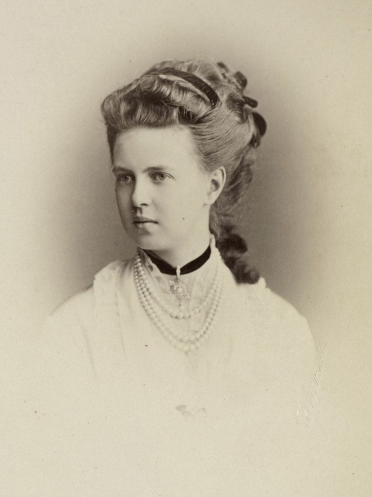 HIH GD MARIA ALEXANDROVNA ROMANOVA OF RUSSIA, ONLY DAUGHTER OF EMPEROR  ALEXANDER II AND DUCHESS ALFRED OF EDINBURGH | Princess alexandra of  denmark, Queen victoria descendants, Duchess