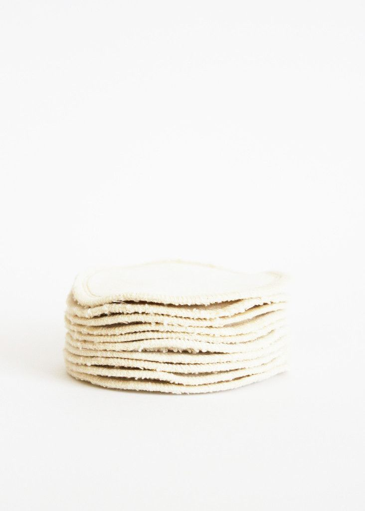 Set of 10 Organic Cotton Rounds
